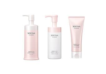 SOFINA - 【保養型洗卸系列】 新誕生「SOFINA晶潤精華卸妝泡泡」從淨膚開始潤澤呵護!