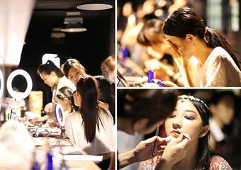 台灣高絲 X 台大花城舞展 高絲彩妝團隊走入校園施展魔法,為學生打造魅力舞台妝