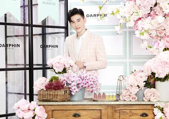 DARPHIN - 法式浪漫花屋 夢幻登台!! 「朵法粉紅花店」 7月正式開店 店長張立昂 力邀大家一起自由玩保養