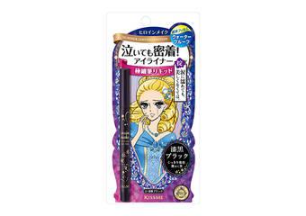 KISSME - 日本每4秒賣一支 持久展線零時差 KISSME花漾美姬 零阻力絲滑濃黑眼線液筆(夏日限定)