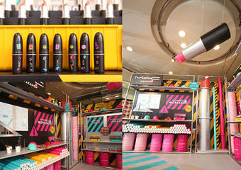 M.A.C - LIP WORKSHOP 子彈狂潮工廠 7月起時髦開張 超過2百支子彈唇膏齊飛 歡迎進廠升級妳的美妝魂!