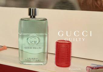 重新演繹擁有百年歷史的義大利香氛「古龍水」,推出全新香氛-「Guilty Cologne罪愛男性古龍水」!