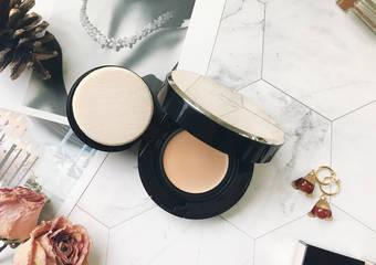 肌膚之鑰超進化素顏系底妝—光采奢華恆霧粉霜 真的美到讓人完全不想卸妝啊!