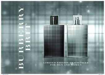 [限量]BURBERRY 風格金屬限量版男女對香 聖誕節限定