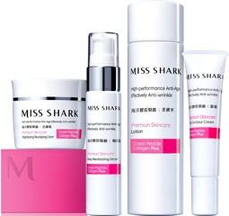 [新品]妳拉「緊」報了沒? miss SHARK小白鯊推出「海洋膠原緊緻系列」 結合多胜肽功效,展現年輕緊緻柔滑肌