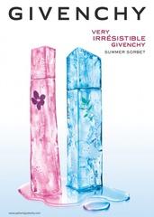 [新品] 最冰涼清新的夏日香氛獻禮 2009年魅力紀梵希「最愛雪酪」男女對香