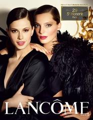 [限量] 高調巴黎  2011 LANCOME限量秋妝系列 以40's高調卻不做作、華麗卻不浮誇的極緻色彩 向時髦幹練的巴黎女性精神致敬