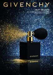[限量] 紀梵希2011「閃耀星空」耶誕限量彩妝 一抹金沙飛舞  幻化為璀璨典雅的光影
