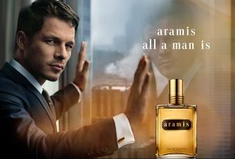 [報導] 全美第一支於高級百貨公司販售的男性香水 aramis經典男香推出「ALL A MAN IS」全新香水廣告