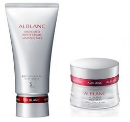 [新品] SOFINA ALBLANC潤白美膚特殊保養系列 三階段式疊透美白 還原肌膚的白皙 明亮 瀅透感