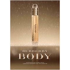 [限量] 獨特、高貴、優雅 BODY系列全新限量版玫瑰金 反映BURBERRY Girl純淨奢華的感官體驗