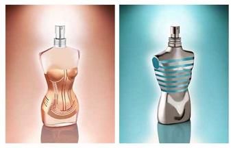 [聖誕] 高堤耶 2009 限量聖誕香水  CLASSIQUE與LE MALE 金屬時尚 系列