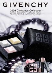 [聖誕] 是耶誕夜的白雪光影?不,是璀璨的冬日珍珠微光  紀梵希2009「珠光耶誕圓舞曲」限量彩妝