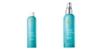 [新品] Moroccanoil【優油抗熱防護噴霧、優油輕盈豐量慕思】,髮體拉提與豐盈