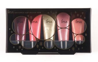 [聖誕] IPSA 聖誕繽紛五色唇蜜 推出年度聖誕限量美唇組合