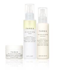 [新品] THREE【護髮造型系列】天然成分讓造型同時呵護頭皮及髮絲