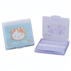 Avon 雅芳 臉部保養用具-hello kitty吸油面紙