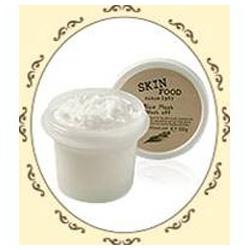 SKINFOOD 面膜系列-純米活膚精華面膜(洗淨式)