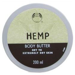 The Body Shop 美體小舖 HEMP大麻籽系列-大麻籽密集修護身體滋養霜