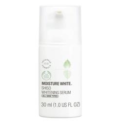 The Body Shop 美體小舖 水嫩淨白系列-水嫩淨白修護精華液 Shiso Whitening Serum