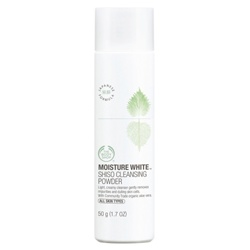 The Body Shop 美體小舖 水嫩淨白系列-水嫩淨白潔膚粉 MOISTURE WHITE SHISO CLEANSING POWDER
