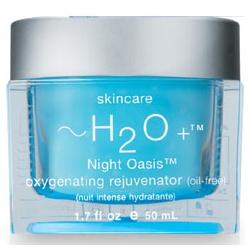 ~H2O+ 水貝爾 8杯水系列-8杯水保濕修護晚霜 Night Oasis Oxygenating Rejuvenator