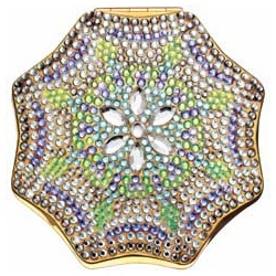 Estee Lauder 雅詩蘭黛 粉餅系列-晶鑽銀雪粉妝盒 Crystal Dreams by Judith Leiber