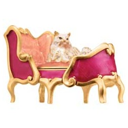 Estee Lauder 雅詩蘭黛 固體香精系列-霓采天堂躺椅可愛貓 Beyond Paradise regal Kitty