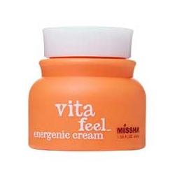 MISSHA  乳霜-果橙維他命 水乳霜 Vita-Feel Energenic Cream