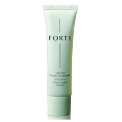 FORTE 台塑生醫 防曬‧隔離-輕透防曬隔離乳SPF25 PA+++(嫩綠色) Light Sun Protective Shield Lotion SPF25 PA+++ Tender & Hyaline soft green