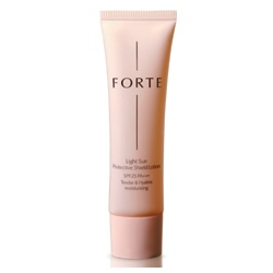 FORTE 台塑生醫 防曬‧隔離-輕透防曬隔離乳SPF25 PA+++(嫩膚色) Light Sun Protective Shield Lotion SPF25 PA+++ Tender & Hyaline moisturizing