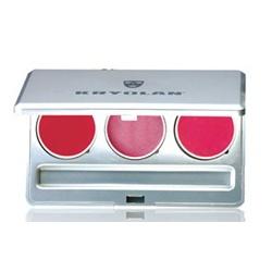 銀彩三色口紅盒