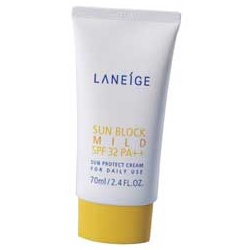 黑不了天天防曬凝霜 Sun block mild SPF32 PA++
