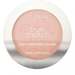 L`OREAL PARiS 巴黎萊雅 臉部彩妝-完美吻膚親肌系蜜粉餅 True Match Pressed Powder