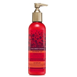 The Body Shop 美體小舖 聖誕限量系列-蔓越莓身體亮膚乳 Cranberry Shimmer Body Lotion