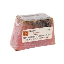 BOTANICUS 菠丹妮 天然花果手工皂系列-玫瑰小黃瓜手工皂