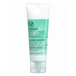 The Body Shop 美體小舖 臉部去角質-海藻淨化磨砂凝膠