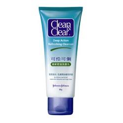 Clean&Clear 可伶可俐 洗顏-清新控油洗面乳