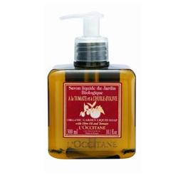 L'OCCITANE 歐舒丹 有機橄欖蕃茄護理-有機橄欖節液式植物皂