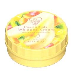 SEXY GIRL  身體保養-美肌香體水凝霜(熱帶水果)