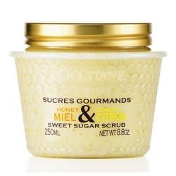 L'OCCITANE 歐舒丹 身體去角質-蜂蜜檸檬去角質霜