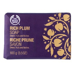 聖誕紫莓香皂 Rich Plum Wrapped Soap