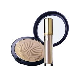 Estee Lauder 雅詩蘭黛 臉部彩妝-純淬璨妍金質煥彩盤 Golden Shell Compact