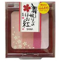 SANA 莎娜 舞妓系列-舞孃彩顏腮紅