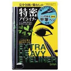 SANA 莎娜 眼線-魔力電眼眼線筆(濃密黑) EXTRA HEAVY EYELINER