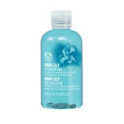 The Body Shop 美體小舖 沐浴清潔-水百合沐浴膠 AQUA LILY-SHOWER GEL
