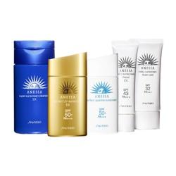 SHISEIDO 資生堂-專櫃 安耐曬-臉部溫和防曬乳SPF43/PA+++