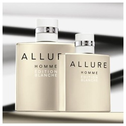 男仕香氛產品-白色時尚男性香水 ALLURE HOMME EDITION BLANCHE