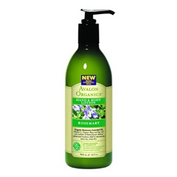 AVALON ORGANICS  手部保養-迷迭香護手潤膚乳液 ROSEMARY HAND & BODY LOTION