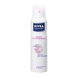 NIVEA 妮維雅 身體保養-嫩白止汗爽身噴霧 EXTRA WHITENING Spray